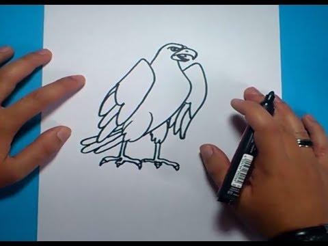 Como Dibujar Un Aguila Paso A Paso 2 | How To Draw An Eagle 2