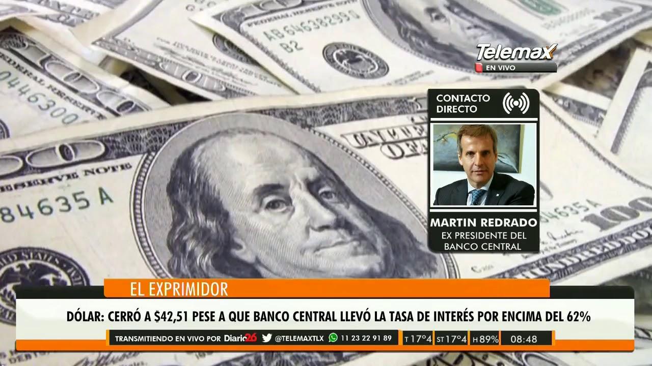 Economia / Martin Redrado - ex Pte del Bco Central