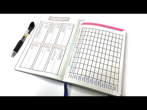 My Bullet Journal Setup: Blog & Business Planning