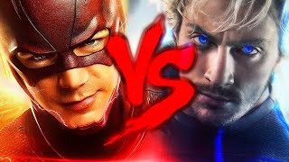 Flash Vs. Merc�rio  Duelo De Tit�s