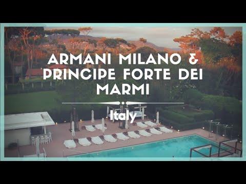 Celestielle #144 Italian Chic: Armani Hotel Milano & Principe Forte dei Marmi