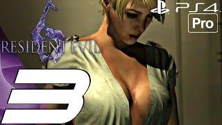 Resident Evil 6 (PS4) - Gameplay Walkthrough Part 3 - Hospital & Tank Chase (Jake) [1080P 60FPS]