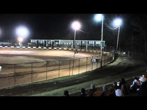 Ronny Lee Hollingsworth Qualifying at Green Valley Speedway 2012 Bama Bash