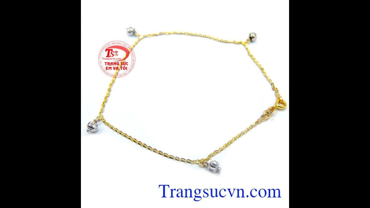 Lắc chân nữ tính thời trang đẹp , Lắc vàng , Lắc chân vàng, TSVN014451   gold   anklet   Khái quát những nội dung liên quan thoi trang nu tinh chuẩn nhất