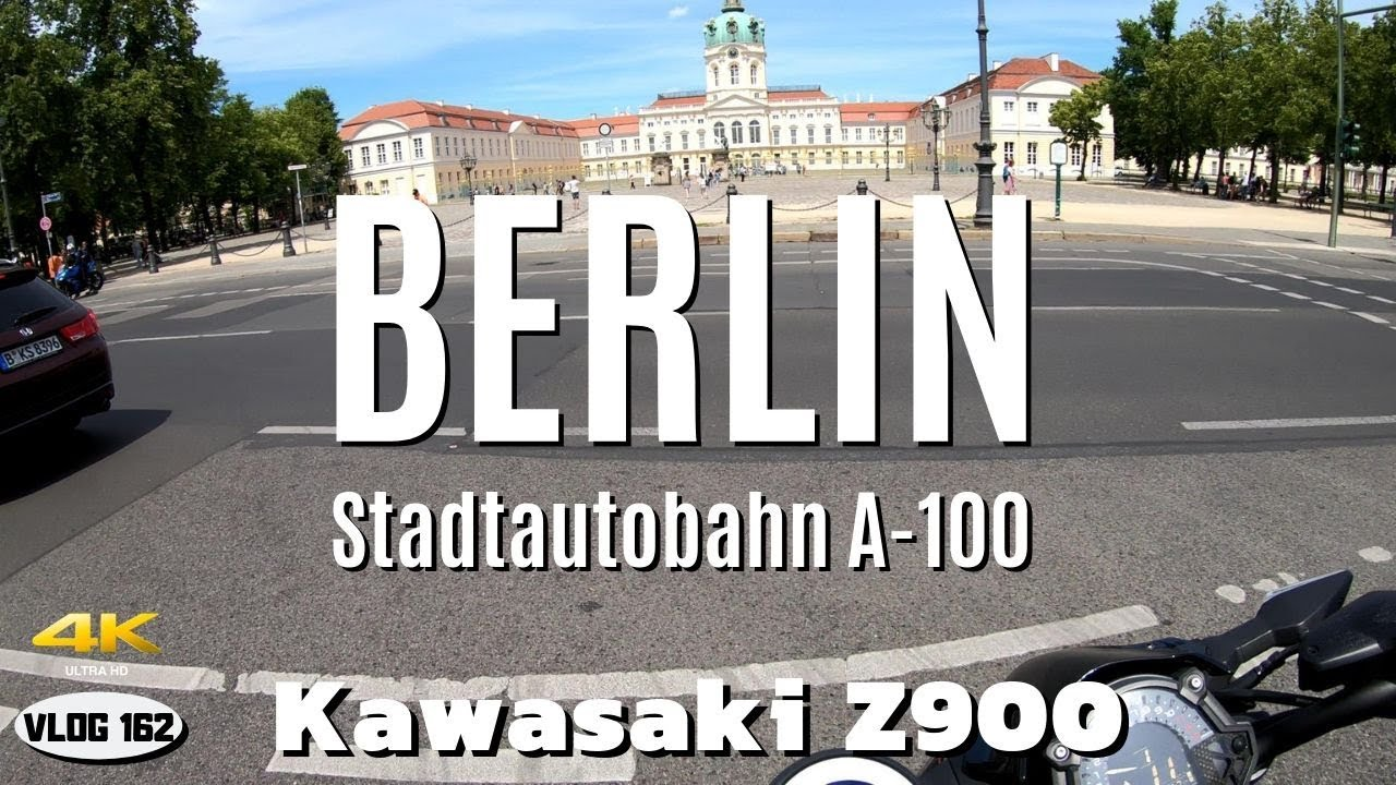 Day 4  - Ride to Schloss Charlottenburg (Berlin) with Kawasaki Z900 - VLOG162 [4K]