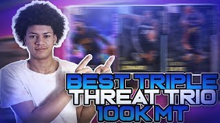 THE BEST TRIPLE THREAT SQUAD UNDER 100K MT IN NBA 2K19 MYTEAM! THIS TEAM CAN BEAT ANYONE