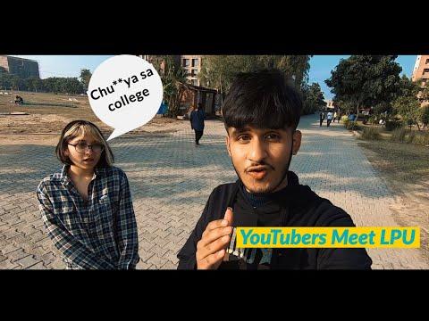 Kaisa Sa College ?   YouTubers Meet LPU   The VSV