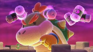 Yoshi's Woolly World - All Boss Battles