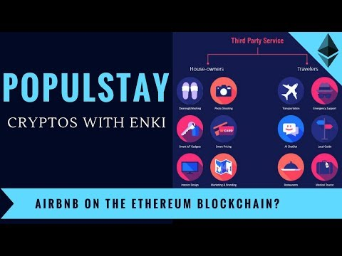 PopulStay - Decentralized Airbnb On The Ethereum Blockchain? - Crypto DApps