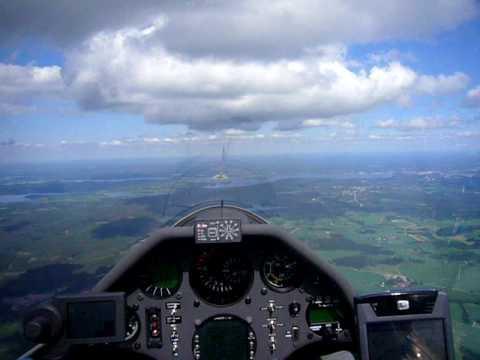 Training flights Junior World Gliding Championships 2009