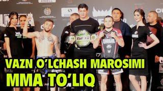 MMA TOROZI O'LCHASH MAROSIMI TOLIQ GFC 20