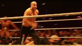 Cesaro dreht im großen Finale bei WWE Live in Stuttgart auf – November 2015
