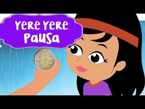 Yere Yere Pausa Tula Deto Paisa | Marathi Nursery Rhymes | बाल गीत | Children Balgeet