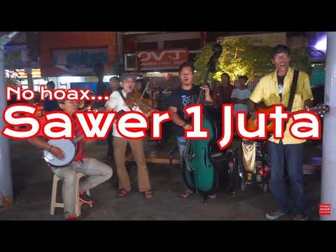Pengamen Jogjakarta - Sawer Satu juta Untuk bawa 3 lagu Daerah - Keren Banget Mainnya