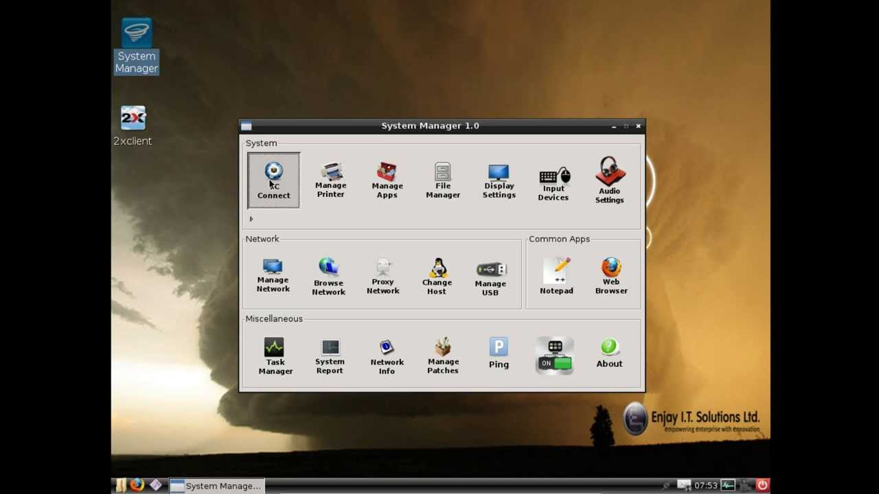 Remote FX support for Windows 2008 in Enjay thin client - Tornado