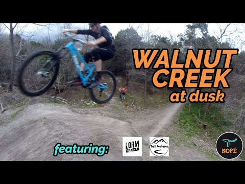 Walnut Creek Dusk Ride With Loam Ranger And Trail Features
