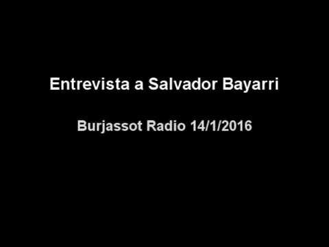 Entrevista a Salvador Bayarri en Radio Burjassot