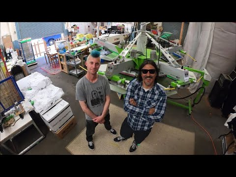 Calimucho Shop Tour: Screen Printing For The Coolest In California