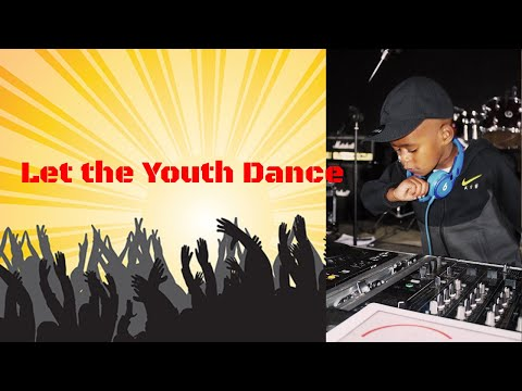 DJ Arch Jnr  Spinning For a Dance Competition (Djay Pro) 5yrs old