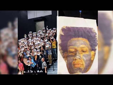 Student suspended, probe launched after charcoal mask prank targeting Nicolet basketball star