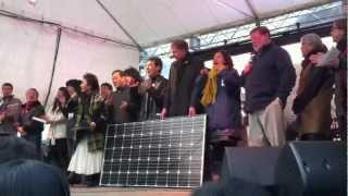 2012/3/11 に日比谷公園で行われた Peace On Earth 2012(ピースオンア...