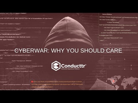 Why you need to care about cyberwar