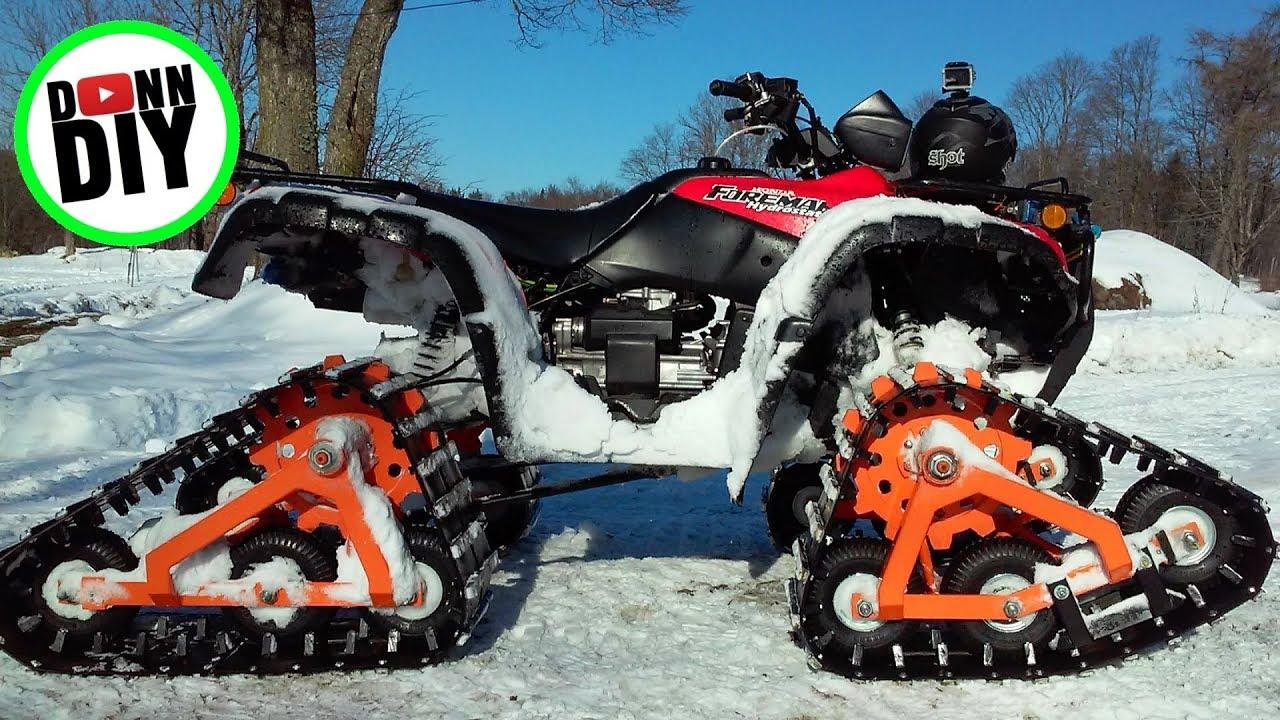 Homemade ATV Tracks Modification II