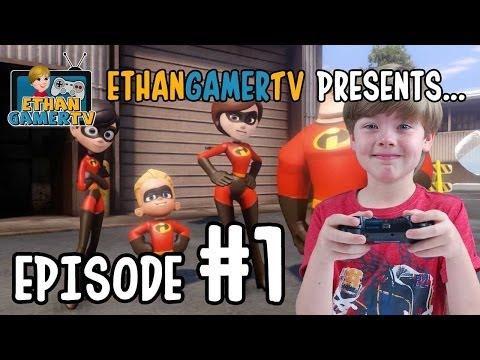 Disney Infinity: The Incredibles (#1) | KID GAMING
