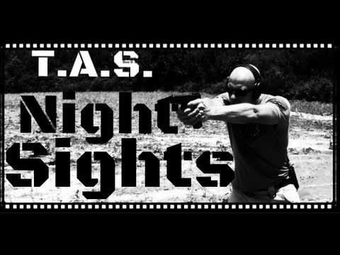 T.A.S. Prototype Glock Tritium Night Sight Review (HD)