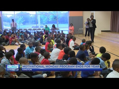 Kinston school hosts 'Motivational Male' series for students