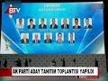 AK PARTİ ADAY TANITIM TOPLANTISI YAPILDI
