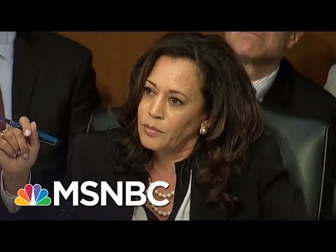 Senator Kamala Harris Persists Again During Jeff Sessions Testimony | All In | MSNBC