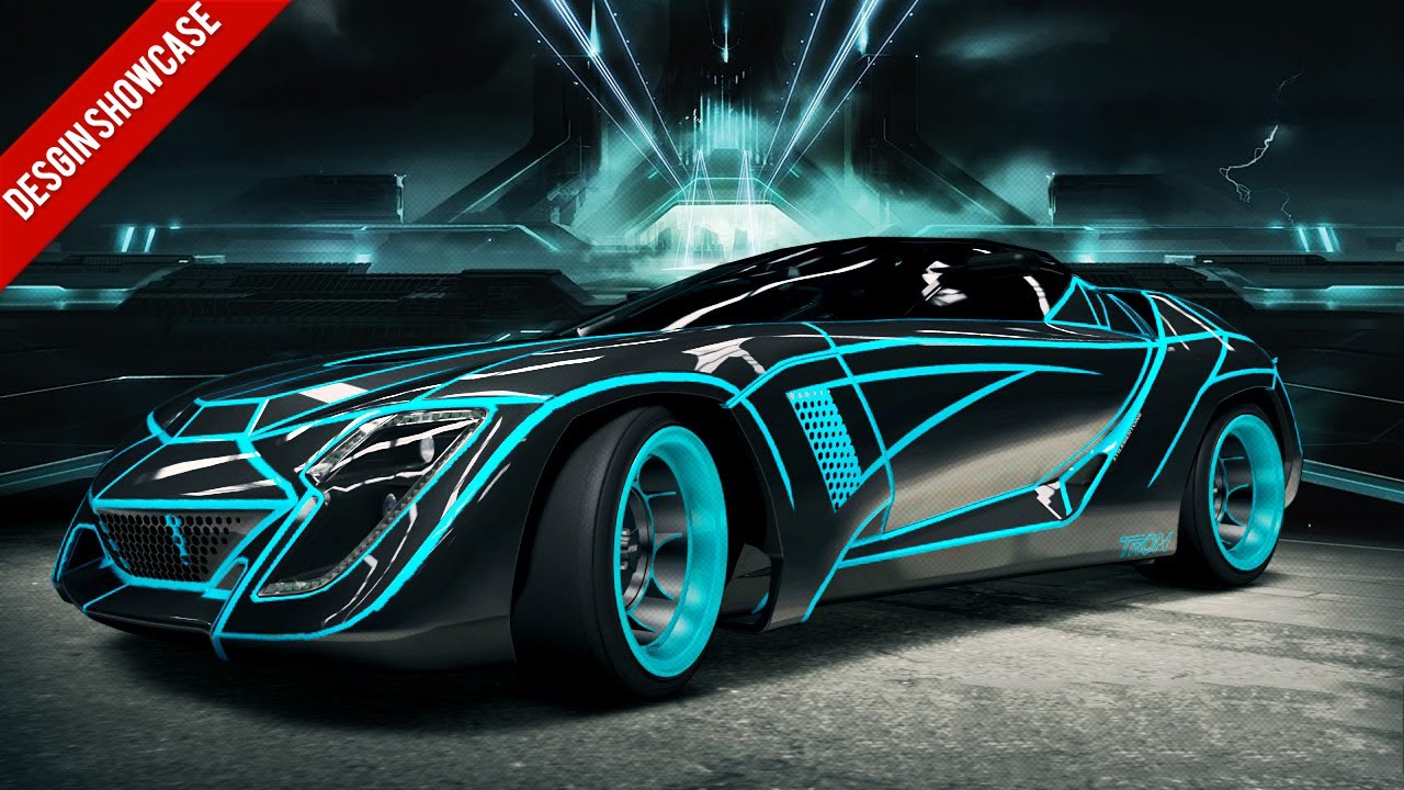 Sick Car Wallpapers Forza 4 Design Showcase Tron User Youtube