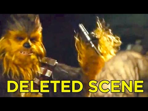 Thumbnail: Star Wars The Force Awakens Deleted Scene - Chewy Rips Off Arm!