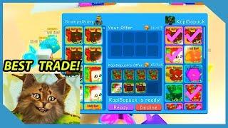 Insane Trade For Legendary Pets!! - Roblox Bubble Gum Simulator