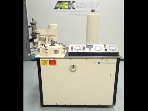 Used- Micron Powder Systems Acucut Air Classifier - stock # 45643007