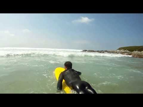 "Osprey Foam Surf Board - The ""Foamie"" does Fistral"