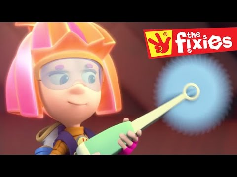 Thumbnail: The Fixies ★ Invisible Ink and The Gramophone ★ Fixies English 2017 | Cartoon For Kids