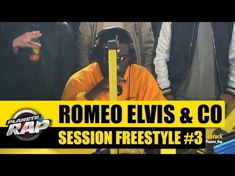 Roméo Elvis & Co - Session Freestyle #3 avec Dinos, Tengo John, MG, JS & KINGJO #PlanèteRap
