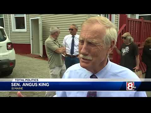 Sen. King compares Portland shelters to U.S./Mexico border