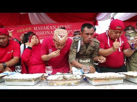 Mecahin rekor MURI | KULINERAN Bareng Ibu Walikota Bandar Lampung