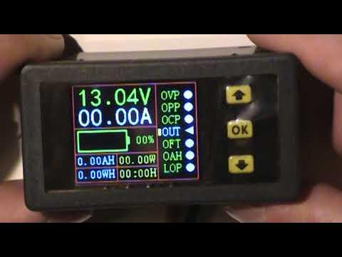Многофункциональный измеритель параметров заряда/разряда аккумуляторов