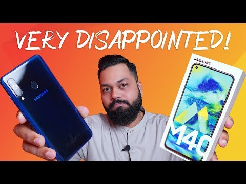 Samsung Galaxy M40 Retail Unit Unboxing & First Impressions
