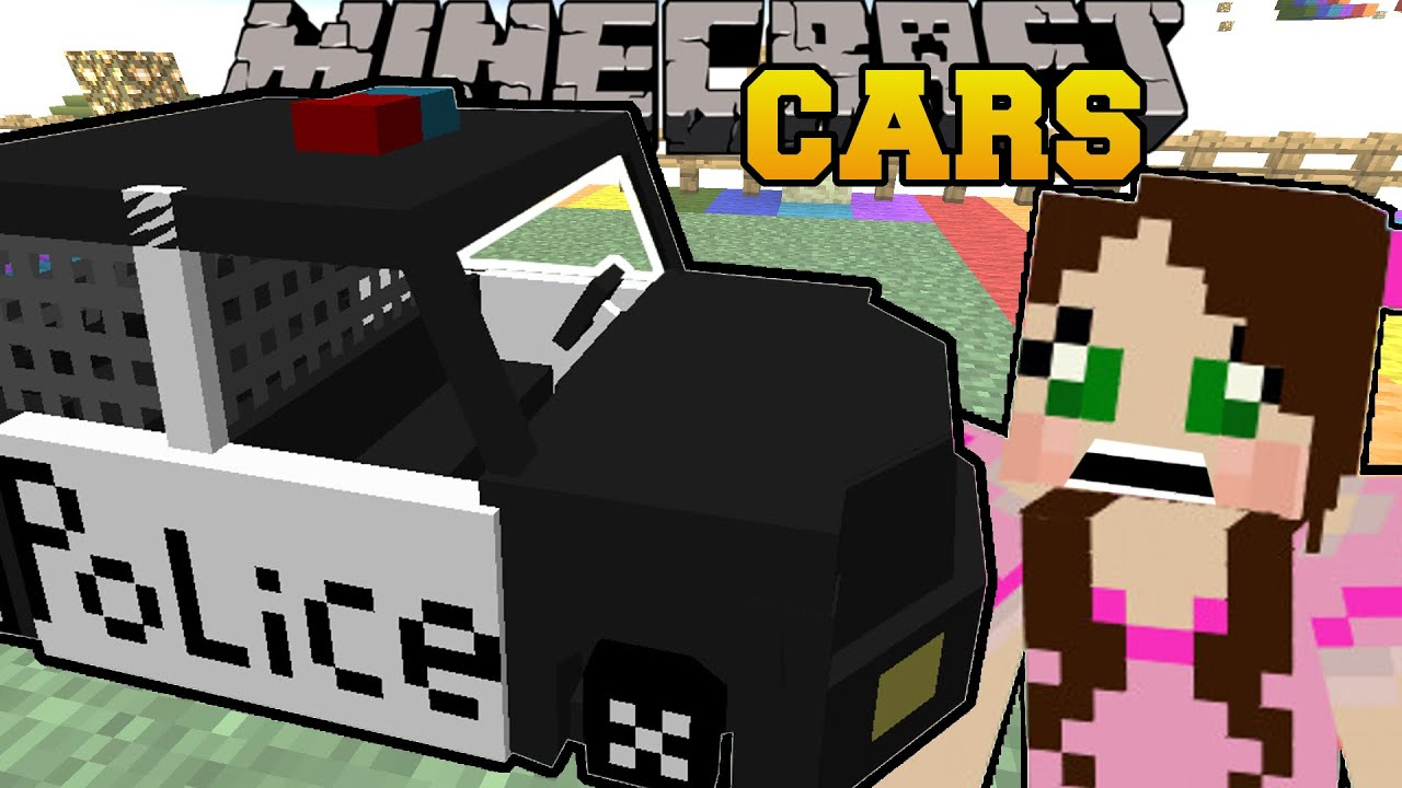 Minecraft Emergency Cars Police Cars Ambulances More Mod Showcase Youtube