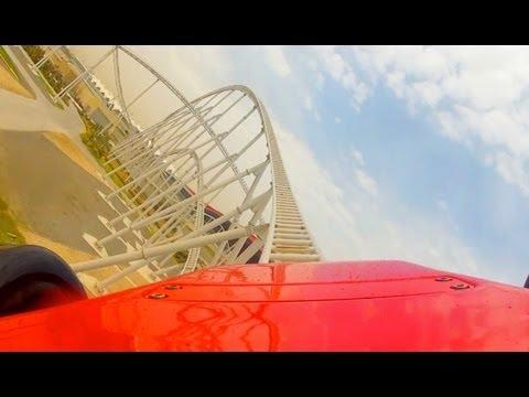 Formula Rossa POV – World's Fastest Roller Coaster Ferrari World Abu Dhabi UAE Onride