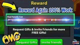 8 Ball Pool Get Free 👉 Pool Fantastic Cue 👈 Biggest New Reward Link Loot 100% Get Free Cue 😎👍