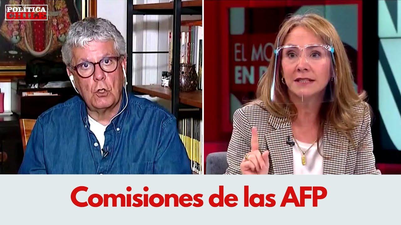 Susana Jiménez vs Nicolás Eyzaguirre | Comisiones de las AFP