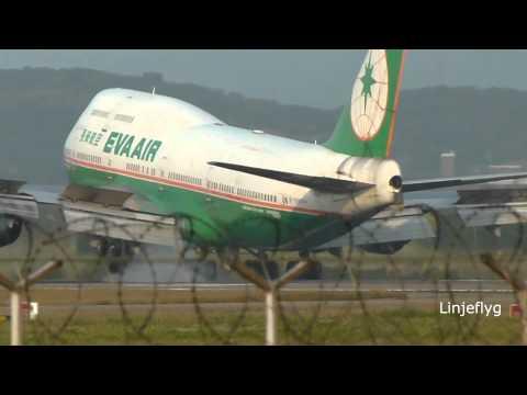 Aircraft movements at 05Right  RCTP-with ATC