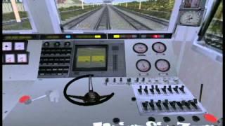 Запуск электровоза ЭП-1 в Trainz.