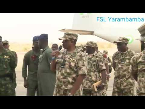 The Scene Of The Nigerian Air Force Deployment To Senegal To Enforce ECOWAS Mandate In Gambia